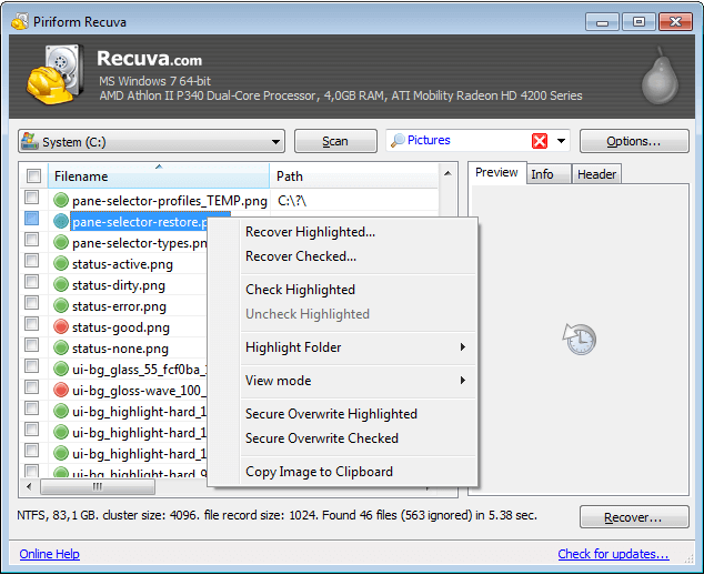 recuva - Top 10 Best Hard Drive Data Recovery Software in 2021